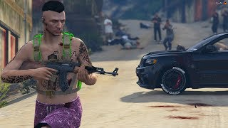 GTA V : VIDA DO CRIME : HORA DE INVADIR A FAVELA DO CHICLETE !! EP.#89