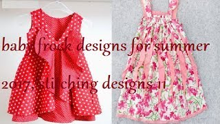 baby frock designs for summer 2017, stitching designs 11