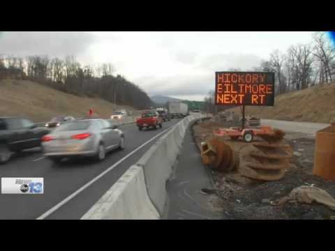 Construction Delayed Along I-26 Over Pond Road