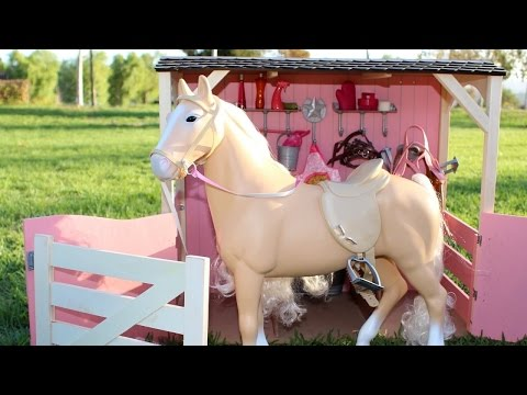 American Girl Doll Horse & Stable Playset Review