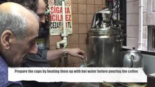 How to make traditional Turkish coffee