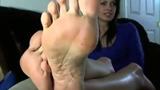 Hot Foot Tease and JOI