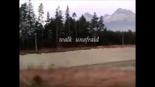 R.E.M. - Walk Unafraid (with lyrics)