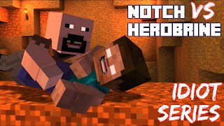 Notch The King of MCSM vs Herobrine, Idiot Series - Minecraft Story Mode Episode 6