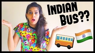Types Of People in Indian Buses | #AnishaTalks