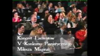 5e Concours International de Piano - Milosz Magin - Paris - 1993