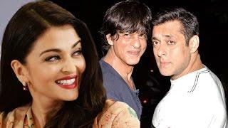 Aishwarya Rai PATCH UP With Salman Khan & Shahrukh Khan