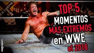TOP 5 MOMENTOS MAS EXTREMOS en WWE el 2016 /LOQUENDO/ by LunaticoDean