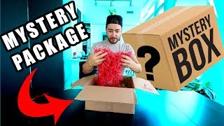 UNBOXING A MYSTERY PACKAGE!