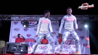 The Supreme Dancers killing it @ Shatta Wale's peace concert in Kumasi