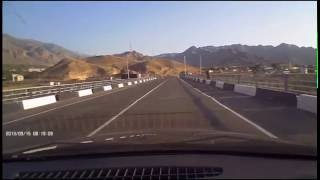 Crossing the border from Iran to Armenia مرز ایران٬ رد کردن پل مرزی (نوردوز) بسمت ارمنستان