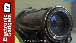 Ordro Wifi Full-HD Digital Video Camera, 1080p, 1/3 Inch CMOS Sensor, 3 Inch
