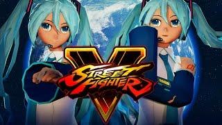 Street Fighter V PC mods - Hatsune Miku