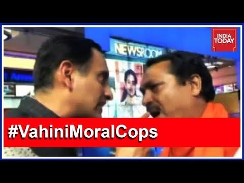 Xxx Mp4 Rahul Kanwal Shows Door To Hindu Yuva Vahini Chief After Fiery Debate 3gp Sex