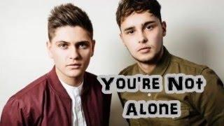 Eurovision 2016 United Kingdom Joe & Jake - You're Not Alone - LYRICS