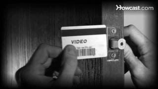How to Get into Your House with a Credit Card If You're Locked Out