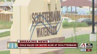 Child killed on water slide at Schlitterbahn
