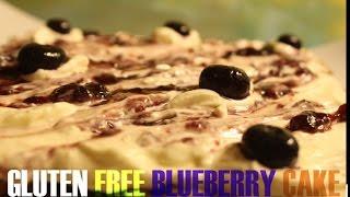 Gluten Free Blueberry Coconut Flour Cake