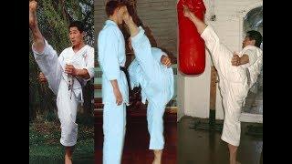 Shotokan Karate Kicking Exercise