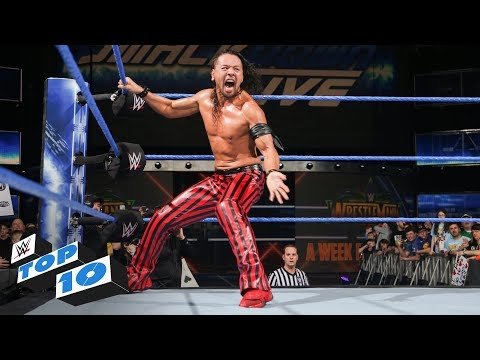Xxx Mp4 Top 10 SmackDown LIVE Moments WWE Top 10 March 27 2018 3gp Sex