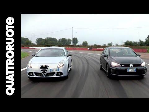 Alfa Giulietta QV VS Volkswagen Golf GTI