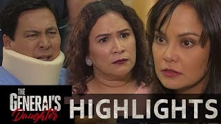 Corazon gets aggressive with Tiago and Amelia | The General's Daughter