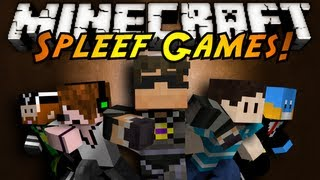 Minecraft Mini-Game : SPLEEF! (with Friends!)