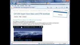 Start download of single DTM and installation - DTM500