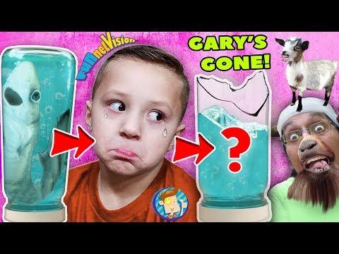 GARY the SHARK is GONE 🦈 ➕ The Teleporting Goat FV Family 🎵 Vlog