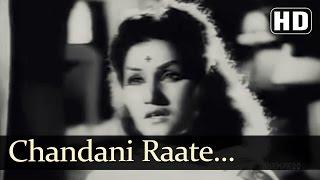 Chandani Raate | Dupatta Songs | Noor Jahan | Ajay Kumar | Sad | Filmigaane