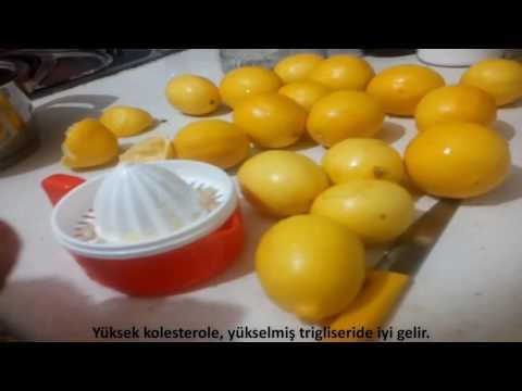 Limon ile Sarımsak Kürü Mucize İlaç