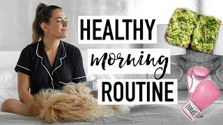 MY HEALTHY AND FIT MORNING ROUTINE | SPRING 2017
