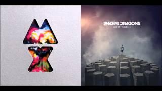 Radioactive Paradise   Coldplay vs  Imagine Dragons Mashup