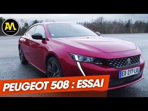 Essai La Peugeot 508 défie les meilleures