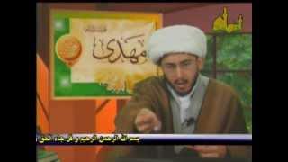 متصل يتحجج على الشيخ حسن الله ياري بالقرآن