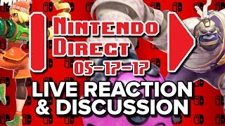 ARMS & Splatoon 2 Direct LIVE REACTION & DISCUSSION - NEW CHARACTERS!? (Yes. And 2v2 Gameplay)