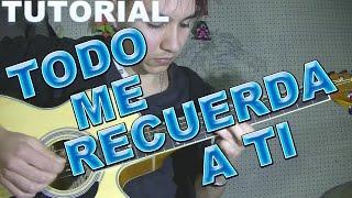 TODO ME RECUERDA A TI LA NUEVA LUNA TUTORIAL GUITARRA INTRO PUNTEO + TAB