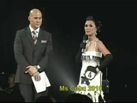 Q&A portion of Ms Cebu 2010 finalists