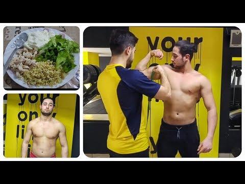 15 GÜNde FİT OLMAK | Vücut ölçüleri / Nasıl Besleniyorum, Antreman yapıyorum | (1.GÜN)