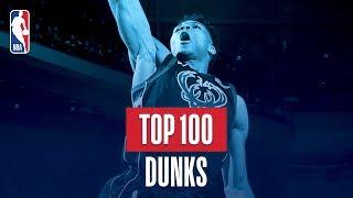 Top 100 Dunks: 2017-2018 NBA Season