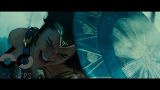 [60FPS] WONDER WOMAN Comic Con Trailer 60FPS HFR HD