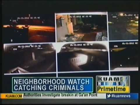 Residents in Agana Heights catch criminals