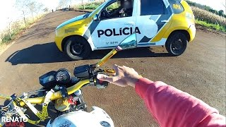 ENQUADRO POLICIAL   Levaram a XJ6 pro GUINCHO :/