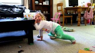 Hip Spica Cast - Child moving and standing