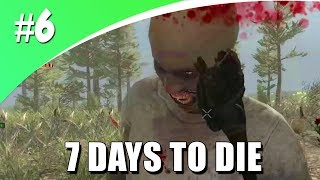 DAG 7 ER KOMEN ZOMBIES AANVALLEN! (7 Days To Die #6)