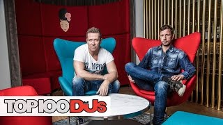 Cosmic Gate - Top 100 DJs Profile Interview (2014)