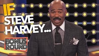 IF STEVE HARVEY... Funny Answers & Questions On Family Feud USA