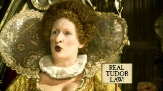 Horrible Histories Terrible Tudors money currency, Elizabeth I's clothing laws