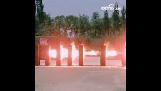 اختراق عشر طبقات من ألواح الفولاذ! الرصاص النافذ يحول الفولاذ إلى ماء في لحظة|CCTV Arabic