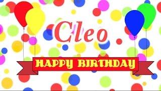 Happy Birthday Cleo Song